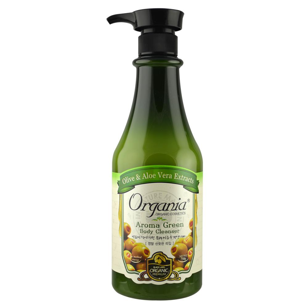 *Organia歐格妮亞 草本綠茶沐浴乳750g-呵護弱敏肌