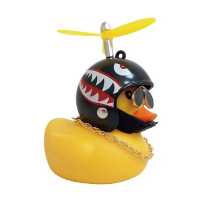 炫光破風鴨-黃色小鴨 社會鴨 機車裝飾 汽車裝飾 禮物玩具