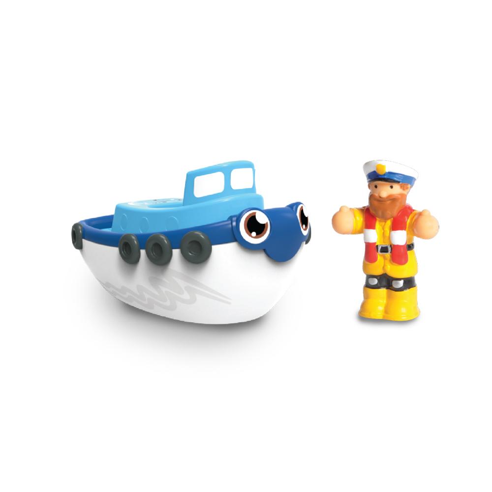 【WOW Toys 驚奇玩具】洗澡玩具 - 拖船 提姆