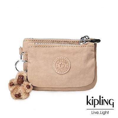 Kipling 瑪奇朵素面零錢包(中)