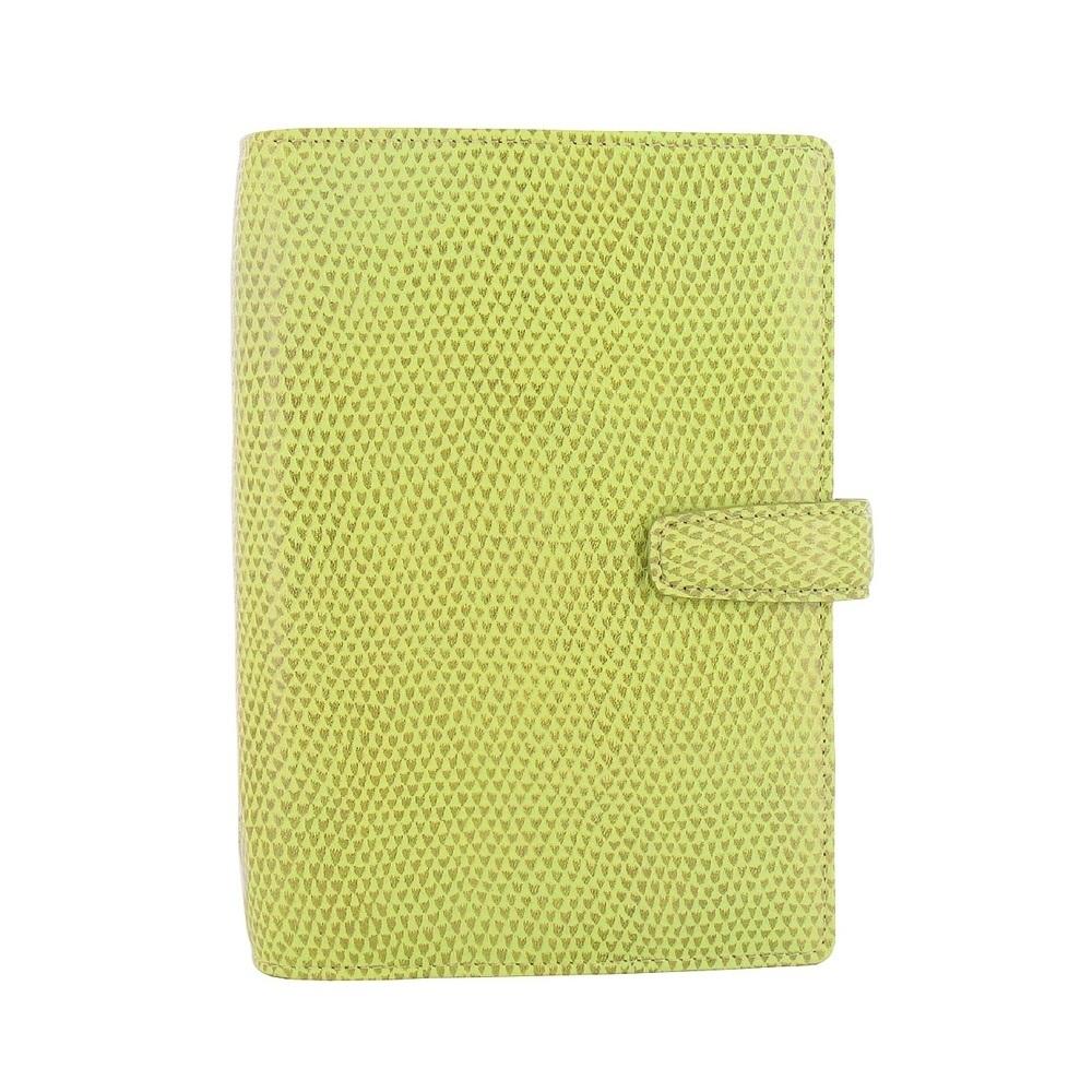 Filofax  CHAMELEON變色龍 聖經型萬用手冊-中-香草綠