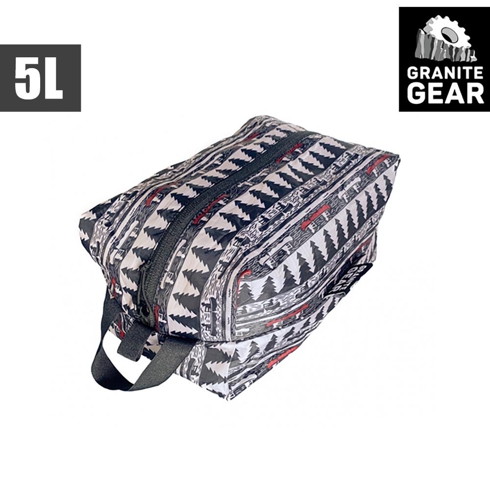 【Granite Gear】1000261 70D ZippSack 輕量拉鍊式立體收納袋(5L) / 月光與槳