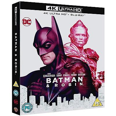 蝙蝠俠 4 急凍人  4K UHD + BD 雙碟限定版
