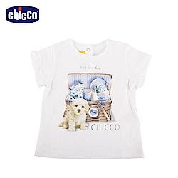 chicco-蔚藍晴天-短袖上衣