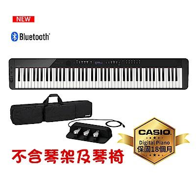 [無卡分期-12期]CASIO卡西歐原廠Privia數位鋼琴PX-S3000含琴袋.三踏板.耳機