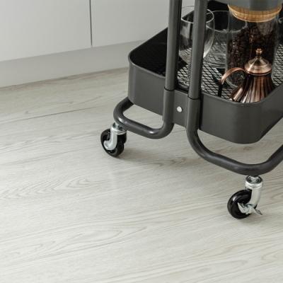 樂嫚妮 塑膠PVC仿木紋DIY地板貼 1.7坪-白橡木色-40片