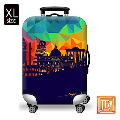 繽紛行李箱套-夢想國度XL