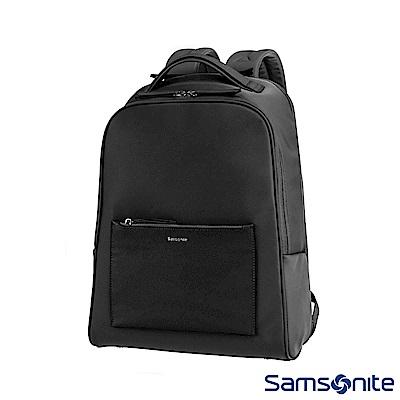 Samsonite新秀麗 Zalia SPL高質感筆電後背包14 (黑)