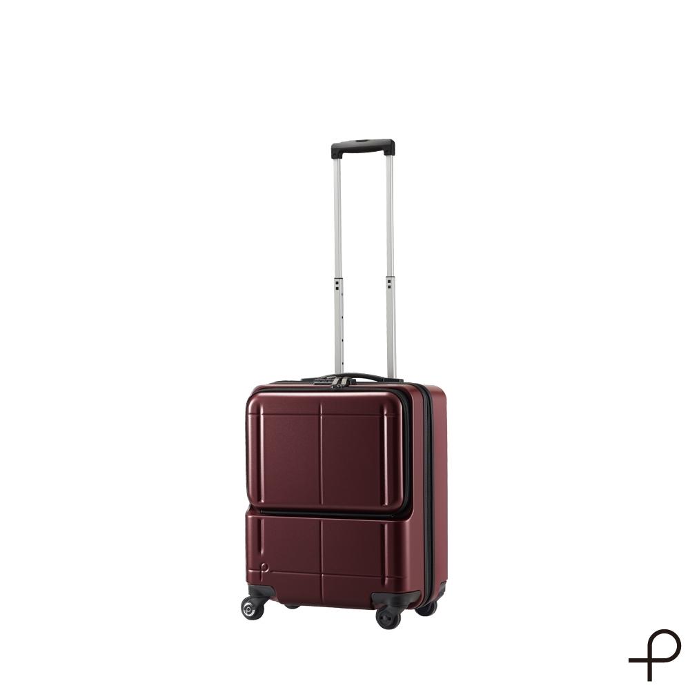 【日本製造PROTECA】極量-21吋行李箱 最大容量商務登機箱(酒紅)