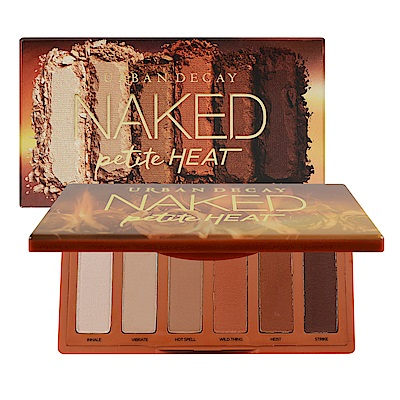 Urban Decay Naked Petite Heat 迷你6色眼影盤 1.3gx6