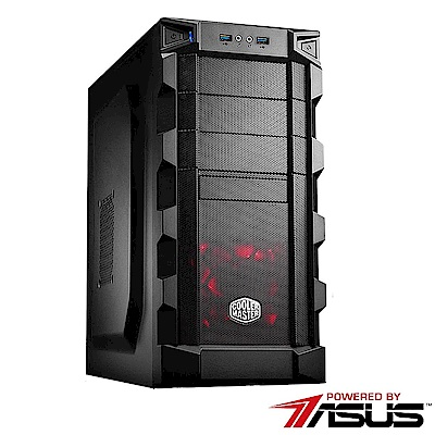 華碩B450平台[赤陽統領]R5六核GTX1050TI獨顯SSD電玩機