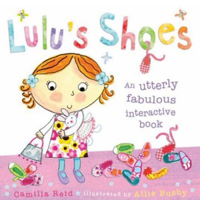 Lulu s Shoes 可愛Lulu穿鞋子趣味操作書