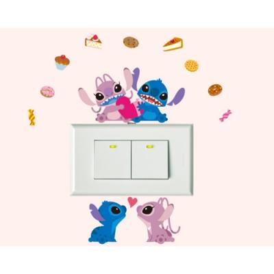 BID126 迪士尼開關貼 星際寶貝系列-甜蜜蜜