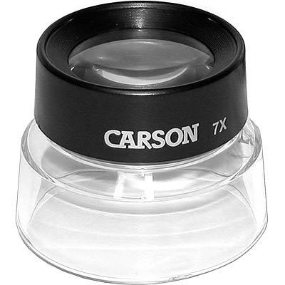 CARSON Lumi 碗狀放大鏡(7x)