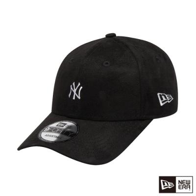 NEW ERA 9FORTY 940 類麂皮 MINI LOGO 洋基 黑 棒球帽