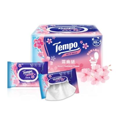 Tempo 濕式衛生紙-櫻花香味(3包/串)