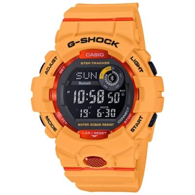 G-SHOCK 藍牙連線鍛鍊分析運動錶(GBD-800-4)-48.6mm