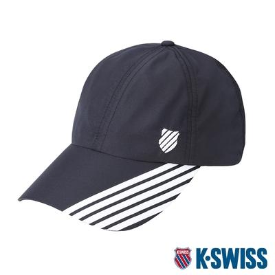 K-SWISS KS Performance Cap排汗運動帽-黑