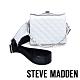 STEVE MADDEN-BCHRISSY 亮點漆面菱格手提斜背兩用包-白色 product thumbnail 1