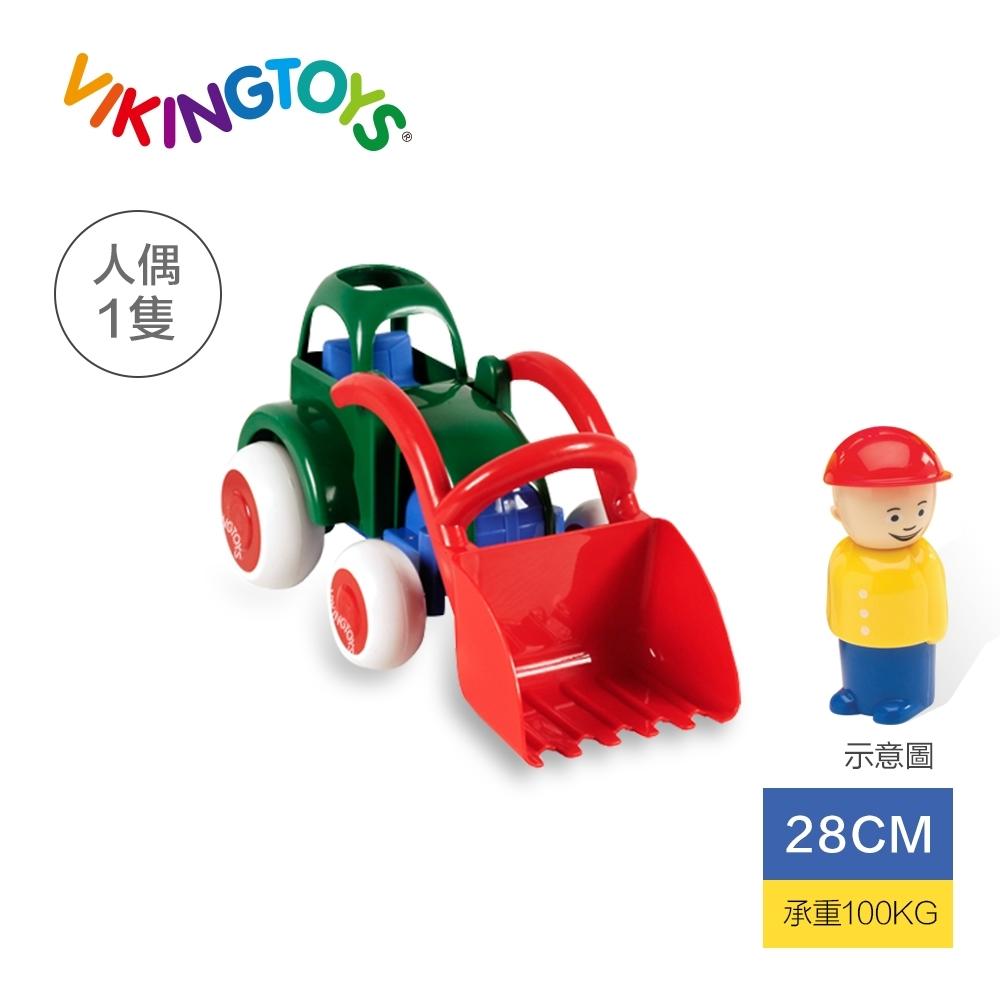 【瑞典 Viking toys】Jumbo搬沙迪哥車(含1隻人偶)-28cm