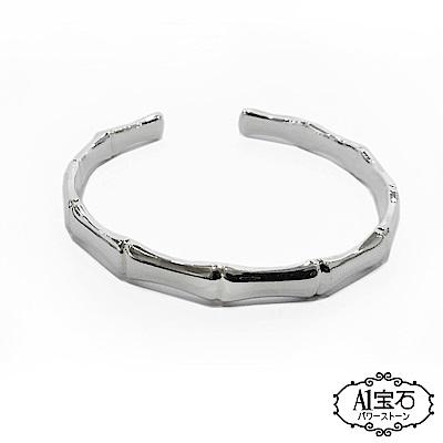 A1寶石 純銀節節高升手環手鐲手鍊-招財開運貴人桃花運旺