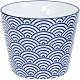 《Tokyo Design》瓷製茶杯(浪紋藍170ml) product thumbnail 1