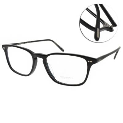 OLIVER PEOPLES光學眼鏡  歐美簡約方框款/霧黑#BERRINGTON 1465