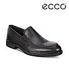 ECCO VITRUS III 簡約商務套入式正裝鞋 男-黑