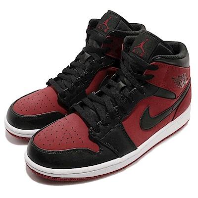 Nike 籃球鞋 Jordan 1 Mid 男鞋