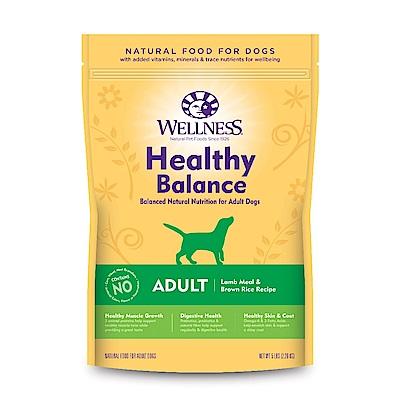 【買一送一】Wellness 健康均衡 成犬 經典羊肉食譜 5磅