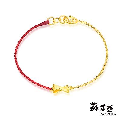 蘇菲亞SOPHIA - G LOVER系列蝴蝶結黃金手環