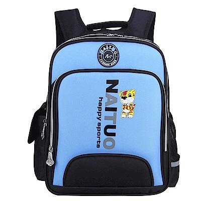DF 童趣館 - 英倫糖果兒童護脊書包後背包-共3色