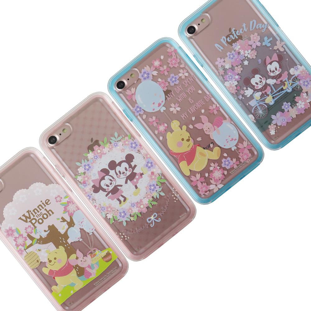 Disney迪士尼二合一雙料保護殼套_櫻花季iPhone 7/8