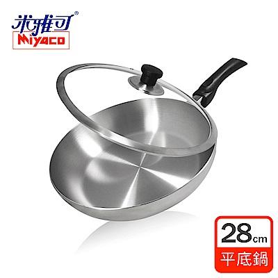 米雅可 316品味七層複合金平底鍋28cm (附蓋)