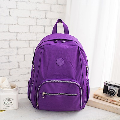 COUNT DUCK 美系悠活輕量大容量後背包-CD-016-紫色