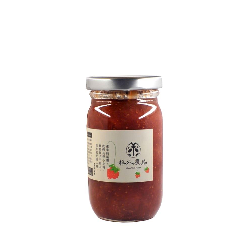 picky digger嚴選格外農品香水草莓果茶醬Strawberry Jam /260g  X 1入/臺灣水果果醬/無添加 /純素