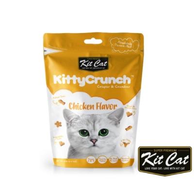 Kit Cat 卡茲餅(雞肉口味) 60g 貓零食 貓餅乾 化毛 潔牙 適口性佳