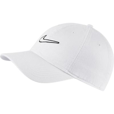 NIKE 帽子 棒球帽 老帽 休閒 運動 白 943091100 U NSW H86 SWOOSH WASH CAP