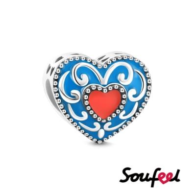 SOUFEEL索菲爾 925純銀珠飾  心中的花蕊 串珠