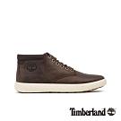 Timberland 男款深棕色全粒面革休閒鞋|A23U9