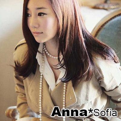AnnaSofia 月光舞會 珍珠長飾鏈項鍊毛衣鍊