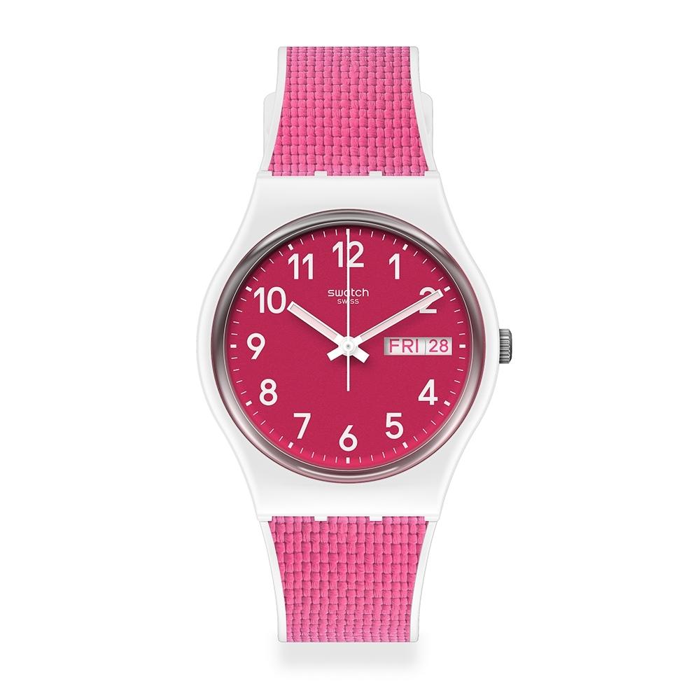Swatch 菁華系列手錶 BERRY LIGHT-34mm