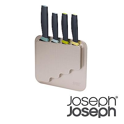 Joseph Joseph 可壁掛刀具四件組含收納架