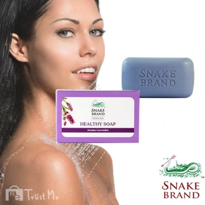 泰國SnakeBrand蛇牌 美肌冰鎮香氛皂100g-薰衣草