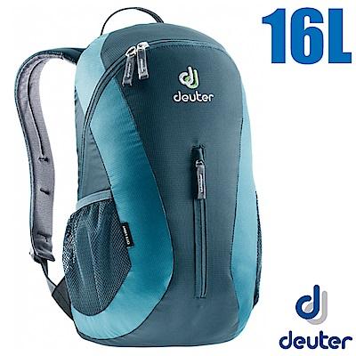 德國 Deuter City Light 16L 輕量級拔熱透氣休閒背包_藍/灰藍