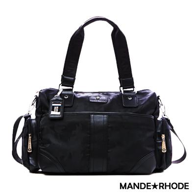 MANDE RHODE-卡莫雷茲x美系潮男風格手提兩用包