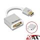 MAX+ 升級版鋁合金 HDMI(公) to VGA(母) 鍍金接頭轉接器15cm product thumbnail 1