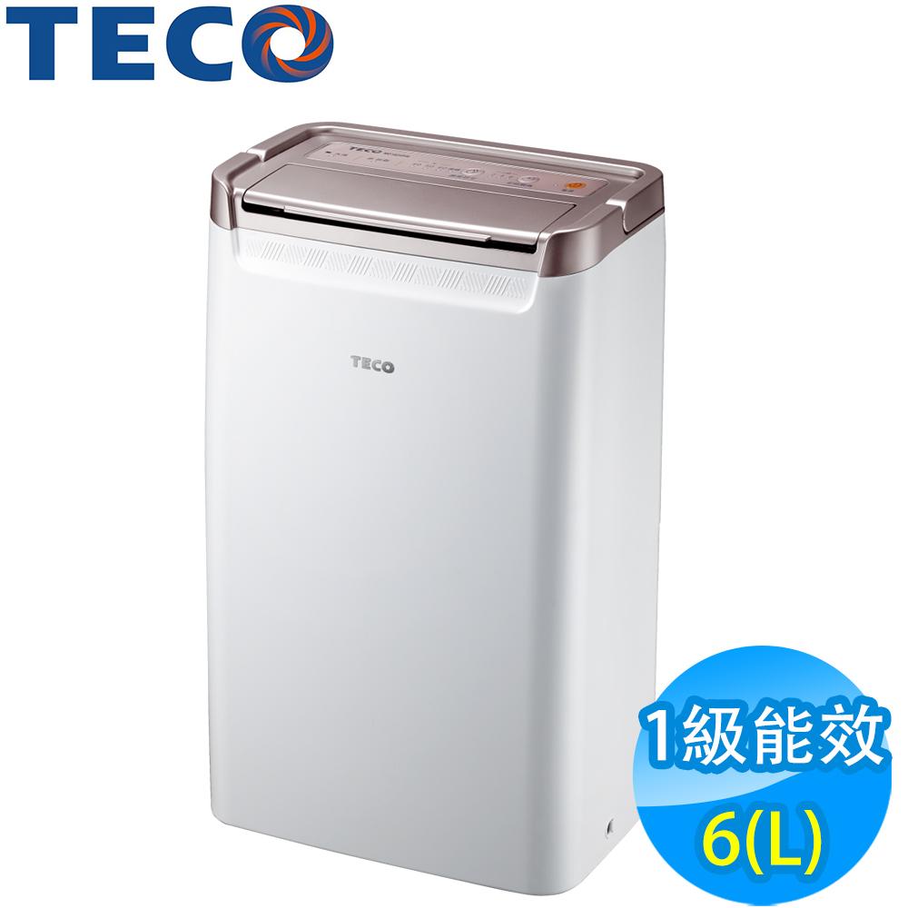 TECO東元 6L 1級清淨除濕機 MD1220RW 全新福利品