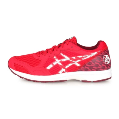 ASICS 男 慢跑鞋 LYTERACER TENKA 紅白