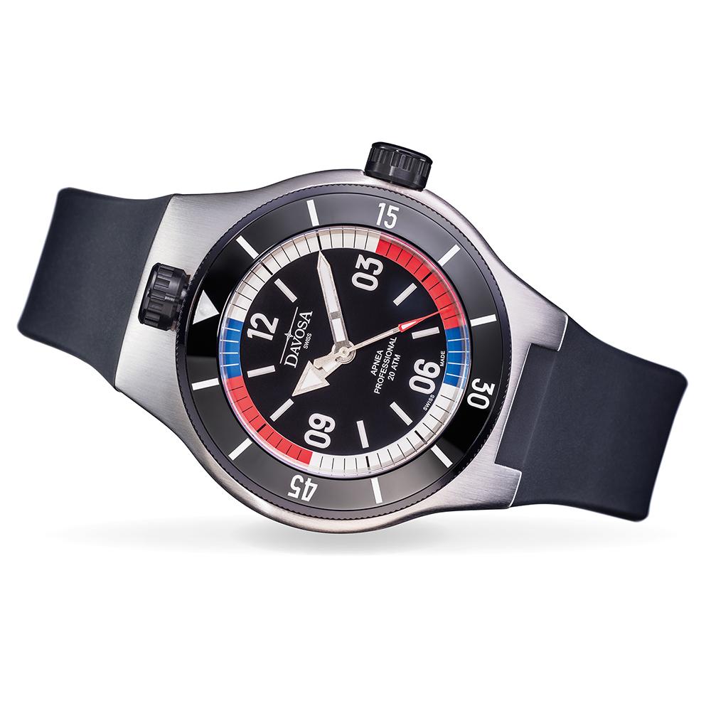 DAVOSA Apnea Diver– Nik Linder自由潛水限量套裝組-黑錶殼